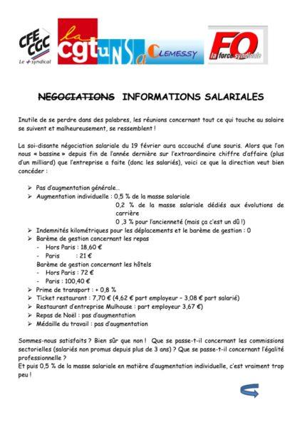 NEGOCIATIONS-INFORMATIONS-SALARIALES