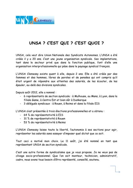 UNSA_c_est_qui_c_est_quoi